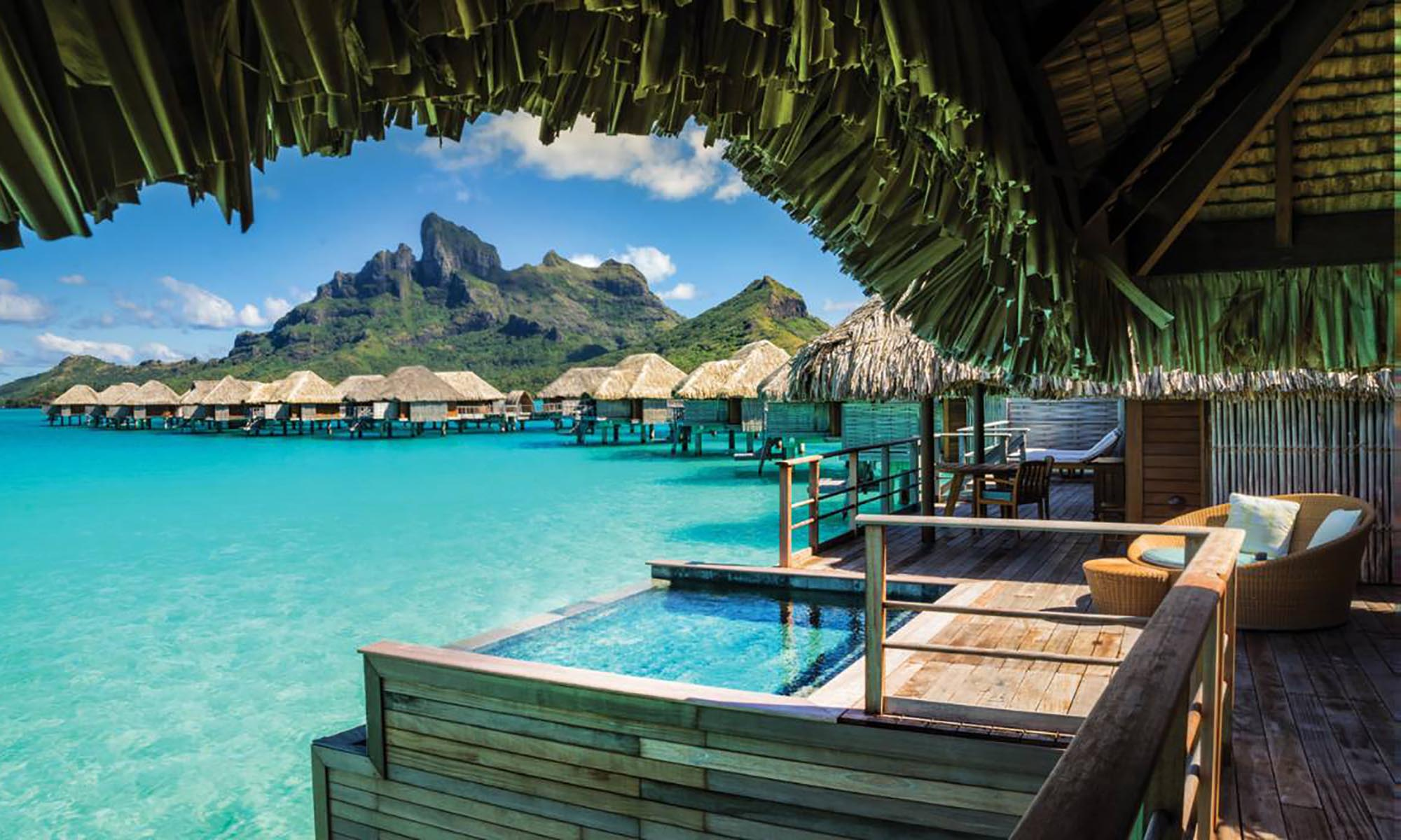 Herenui Two-Bedroom Overwater Bungalow Suite with Pool