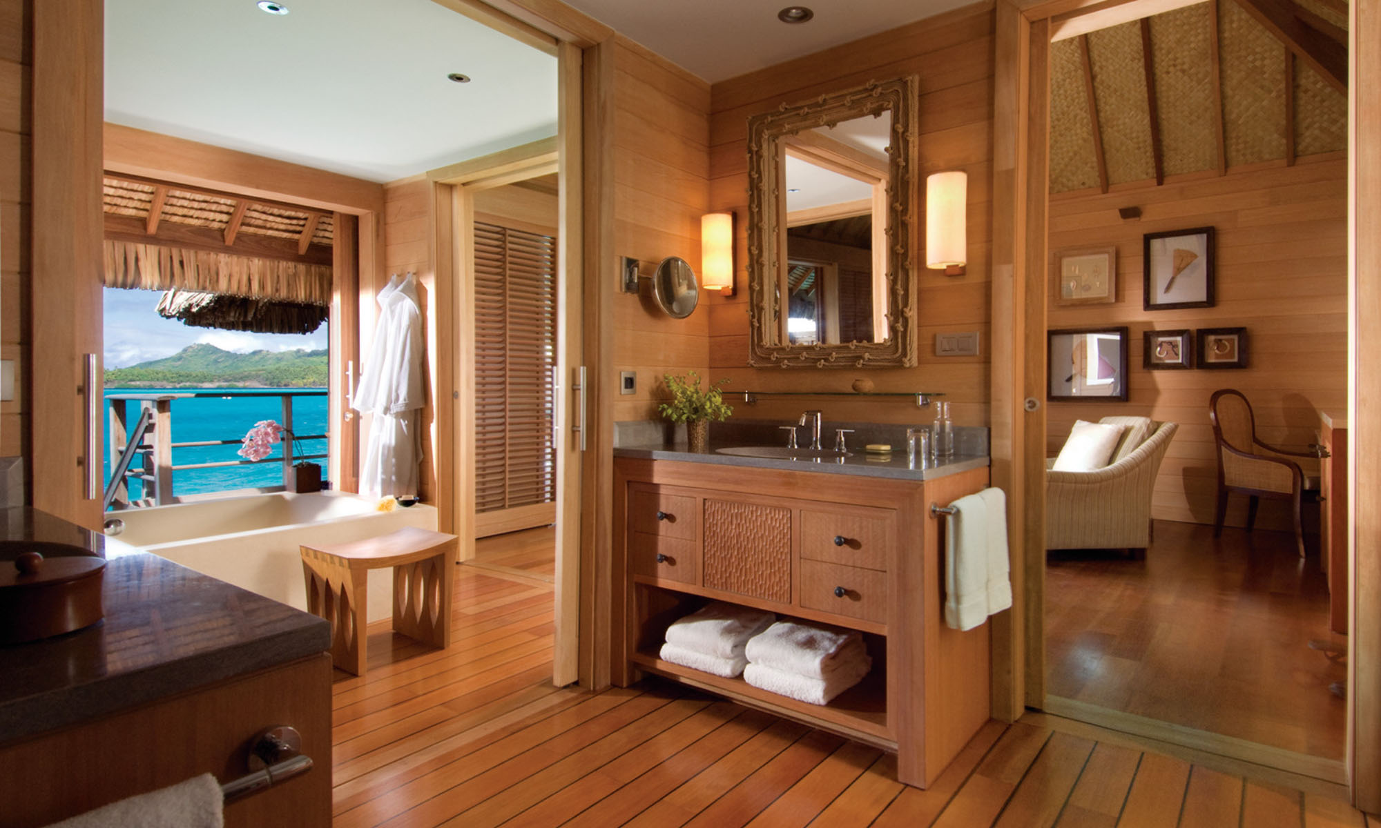 One-Bedroom Mountain View Overwater Bungalow Suite