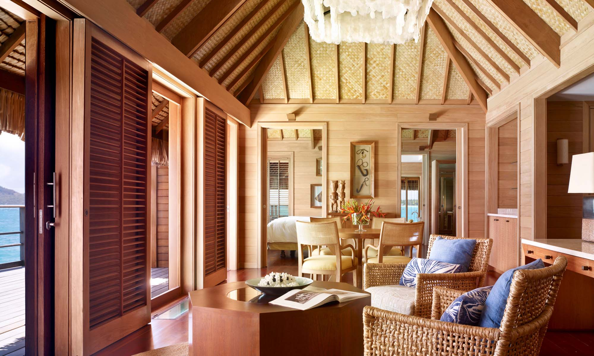 One-Bedroom Otemanu Overwater Bungalow Suite with Pool