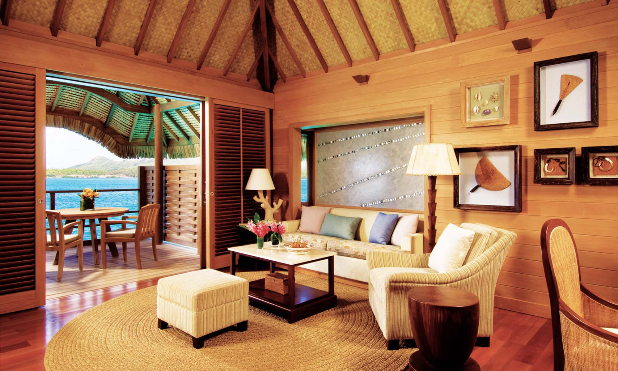 One-Bedroom Overwater Bungalow Suite with Pool