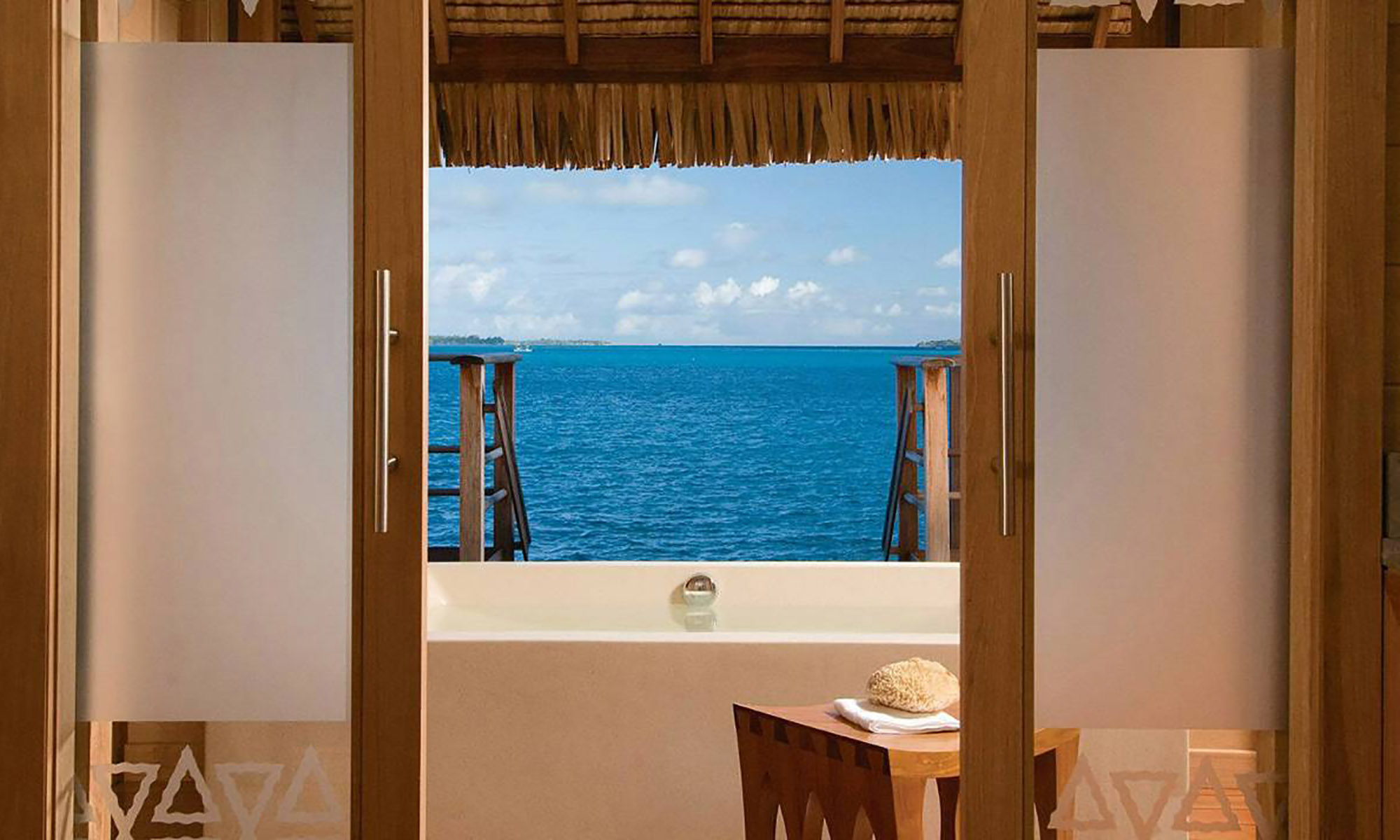 Poerava Two-Bedroom Overwater Bungalow Suite with Pool
