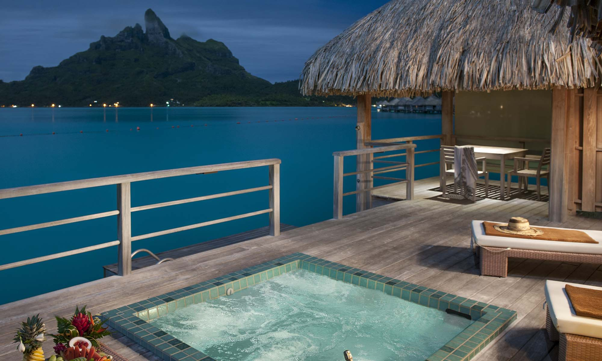 Overwater Premier Suite Villa with Whirlpool, Mt. Otemanu View