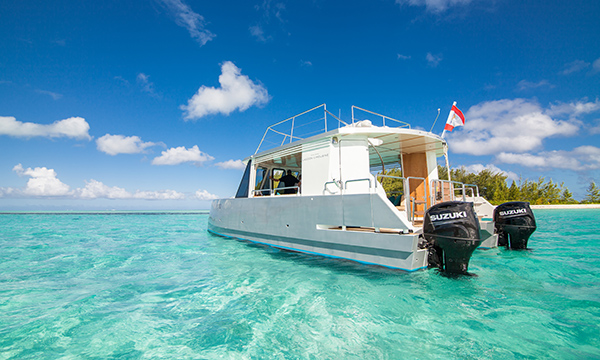 Bora Bora Lagoon Limousine Private Morning Cruise