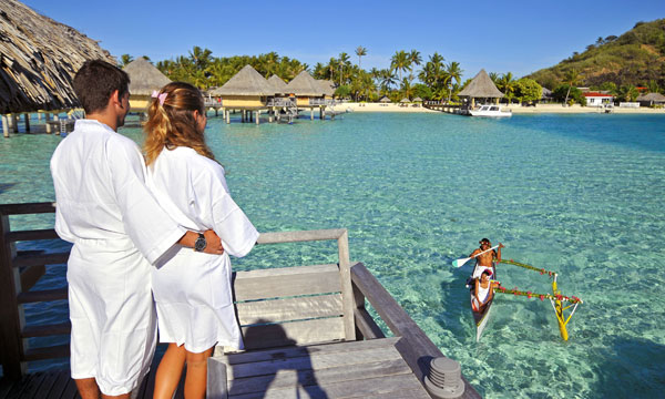 Bora Bora Embrace Honeymoon