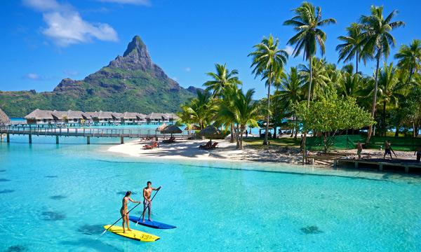 InterContinental Bora Bora Resort And Thalasso Spa Tahiticom - All inclusive tahiti vacations