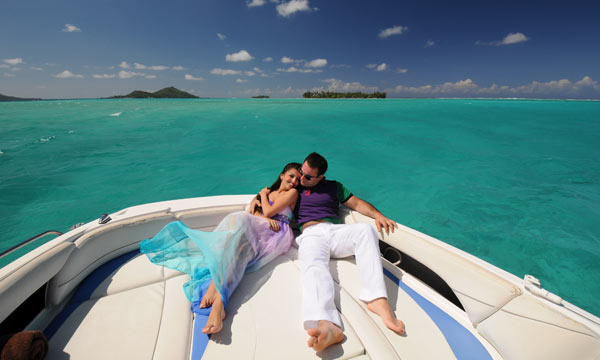 Bora Bora Dream, Private Honeymoon Photo Tour