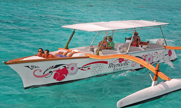 Deluxe Bora Bora Exclusive Outrigger Tour