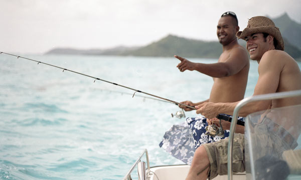 Bora Bora Lagoon Fishing