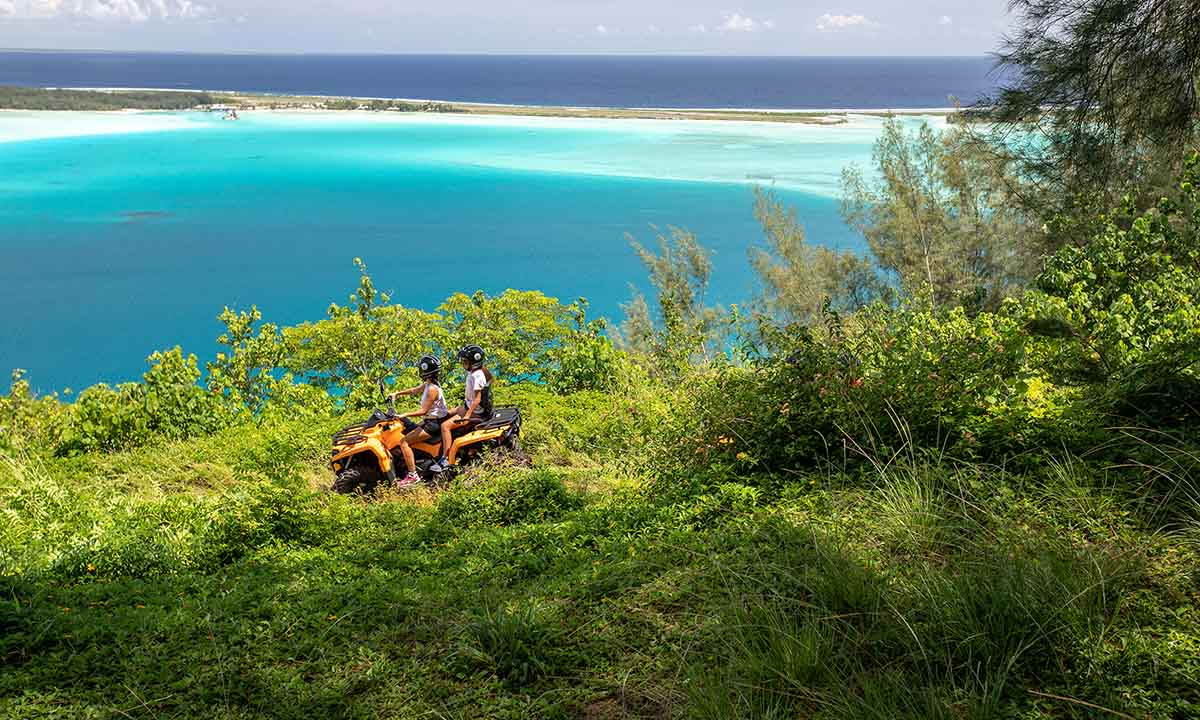 Bora Bora Combo - ATV & Shark and Ray Snorkel Safari