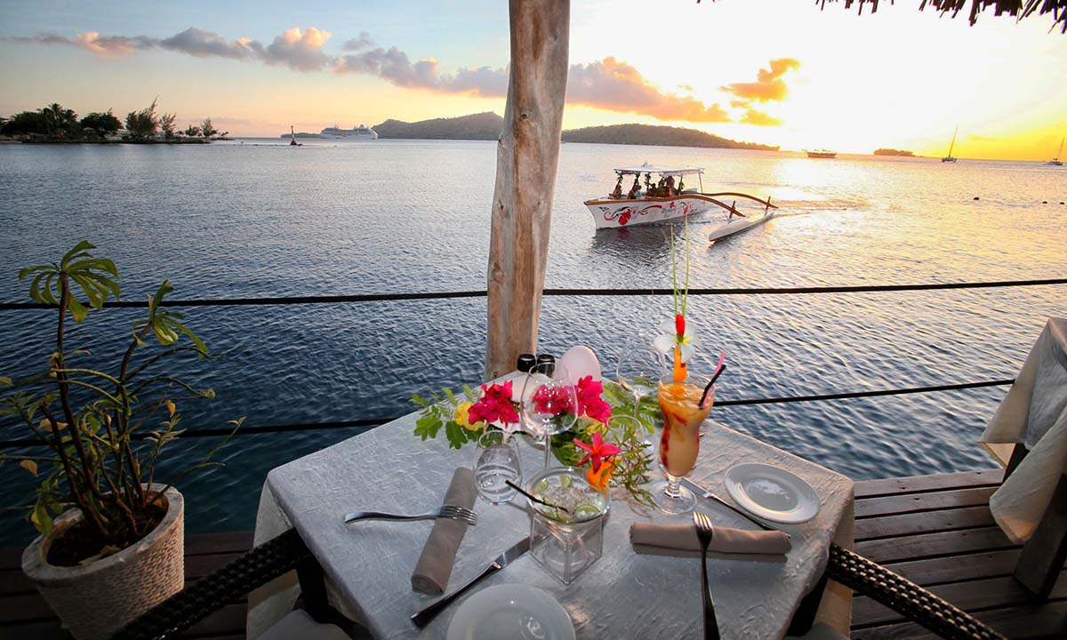Semi-Private Sunset Cruise & Dinner at St James