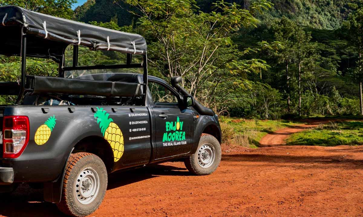 Enjoy Moorea 4x4 Island Tour with Lunch