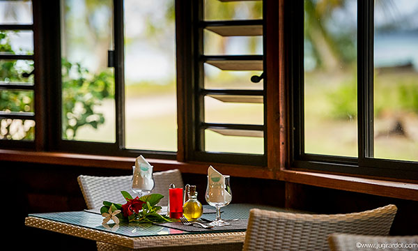 Restaurant at Havaiki Lodge