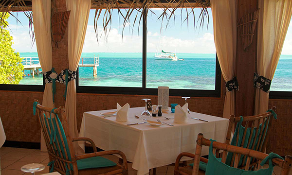 The Restaurant at Hotel Le Mahana Huahine
