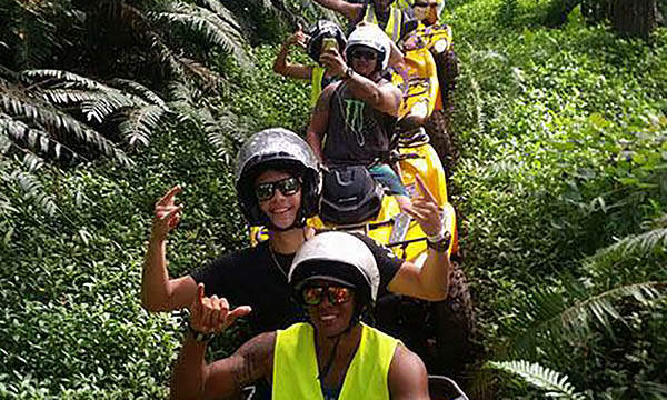 Combo ATV & Jet Ski Tour of Huahine