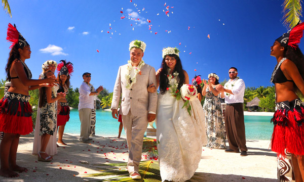 Bora Bora Herero`a Wedding