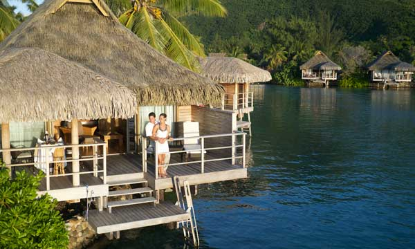 Moorea InterContinental Honeymoon