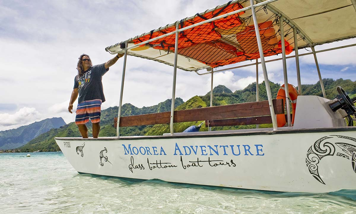 Drift Snorkeling with Moorea Adventure