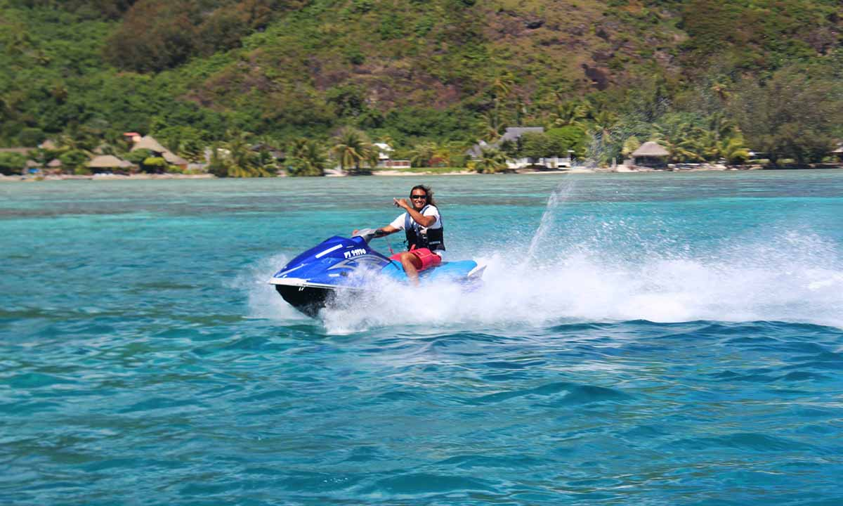 Jet Ski Tour of Moorea