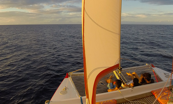 Moorea Sunset Catamaran Cruise