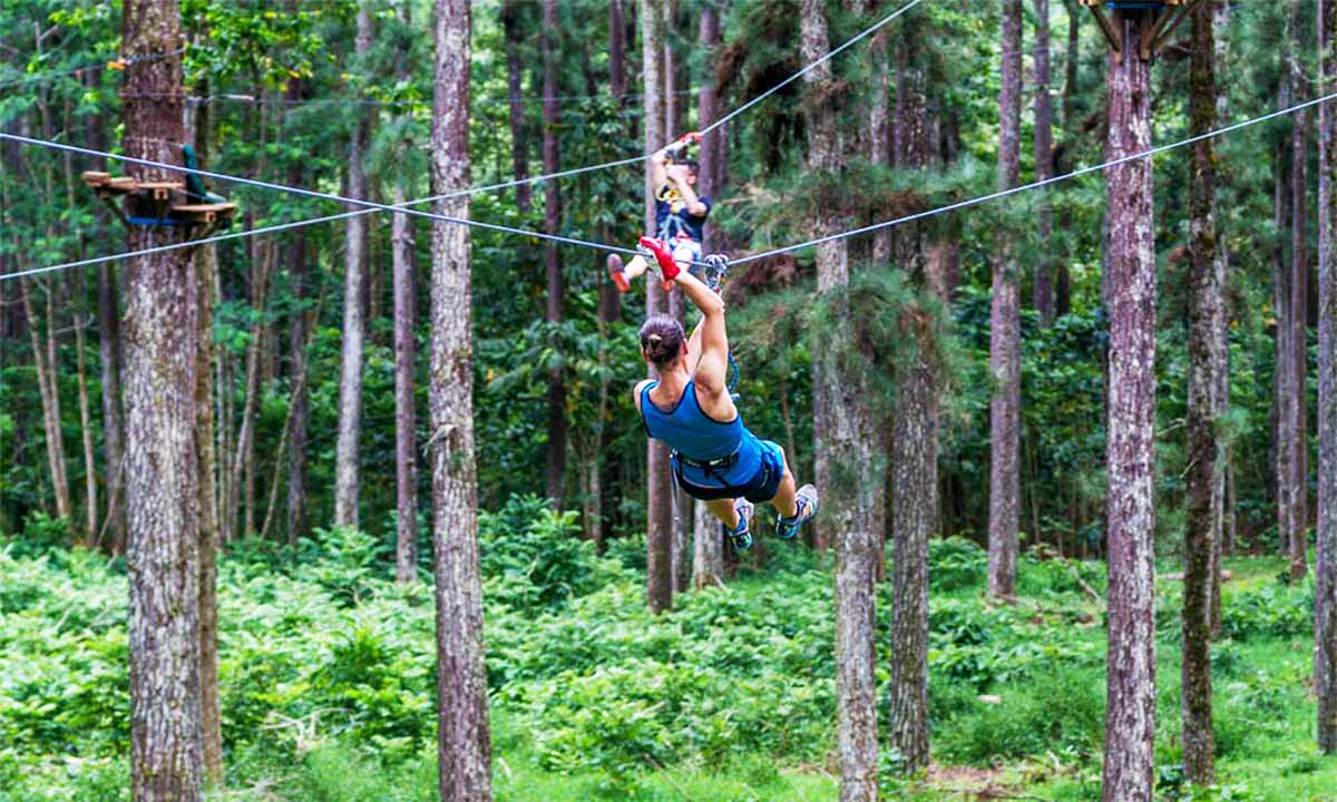Tiki Parc, Zipline and Aerial Adventure