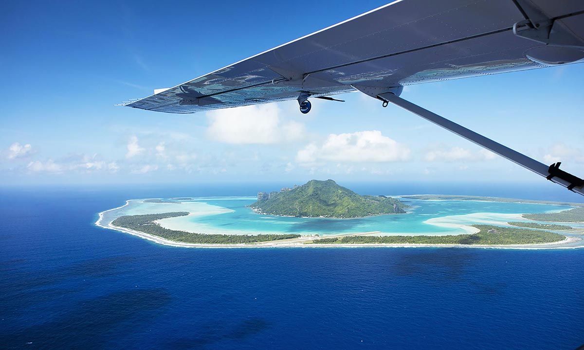Maupiti Seaplane Day Tour