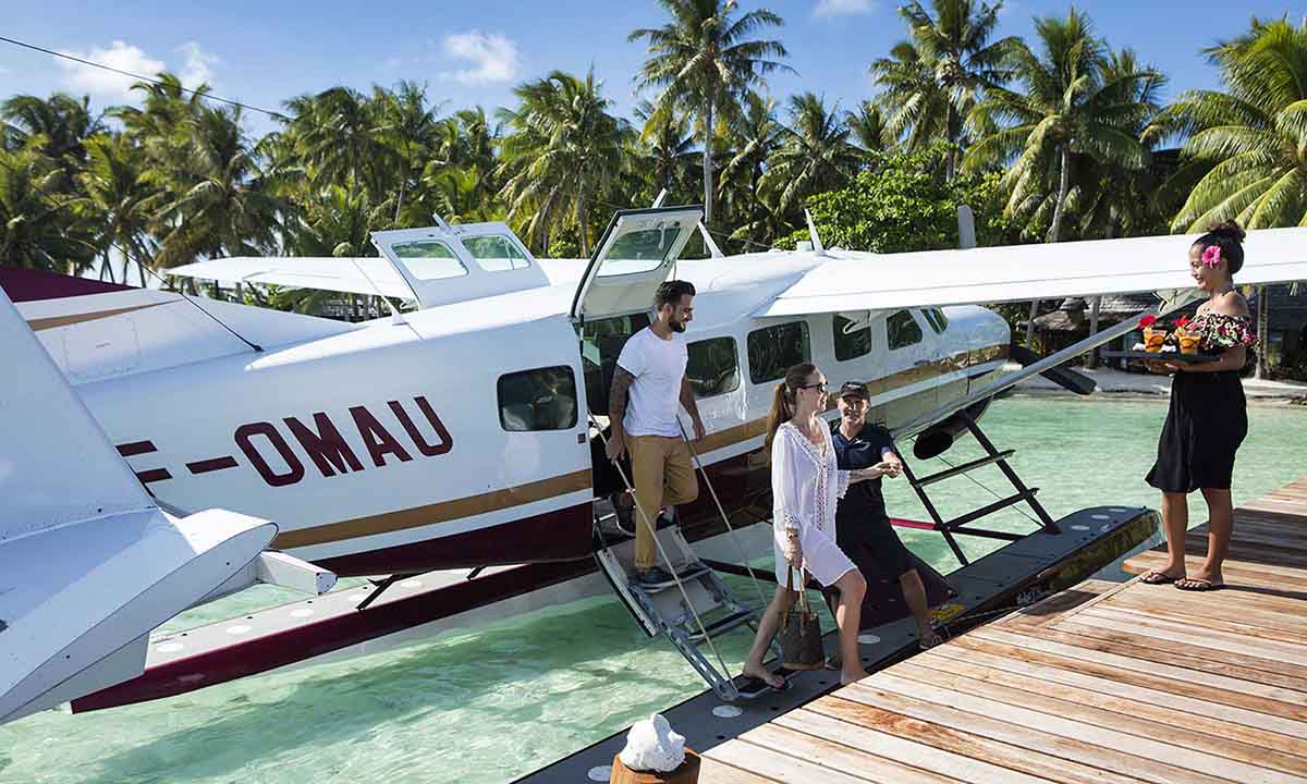 Taha'a Seaplane Day Tour
