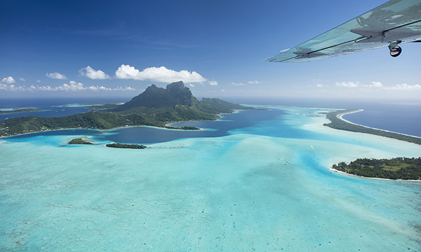 Scenic Seaplane Flight over Bora Bora, Raiatea and Taha'a