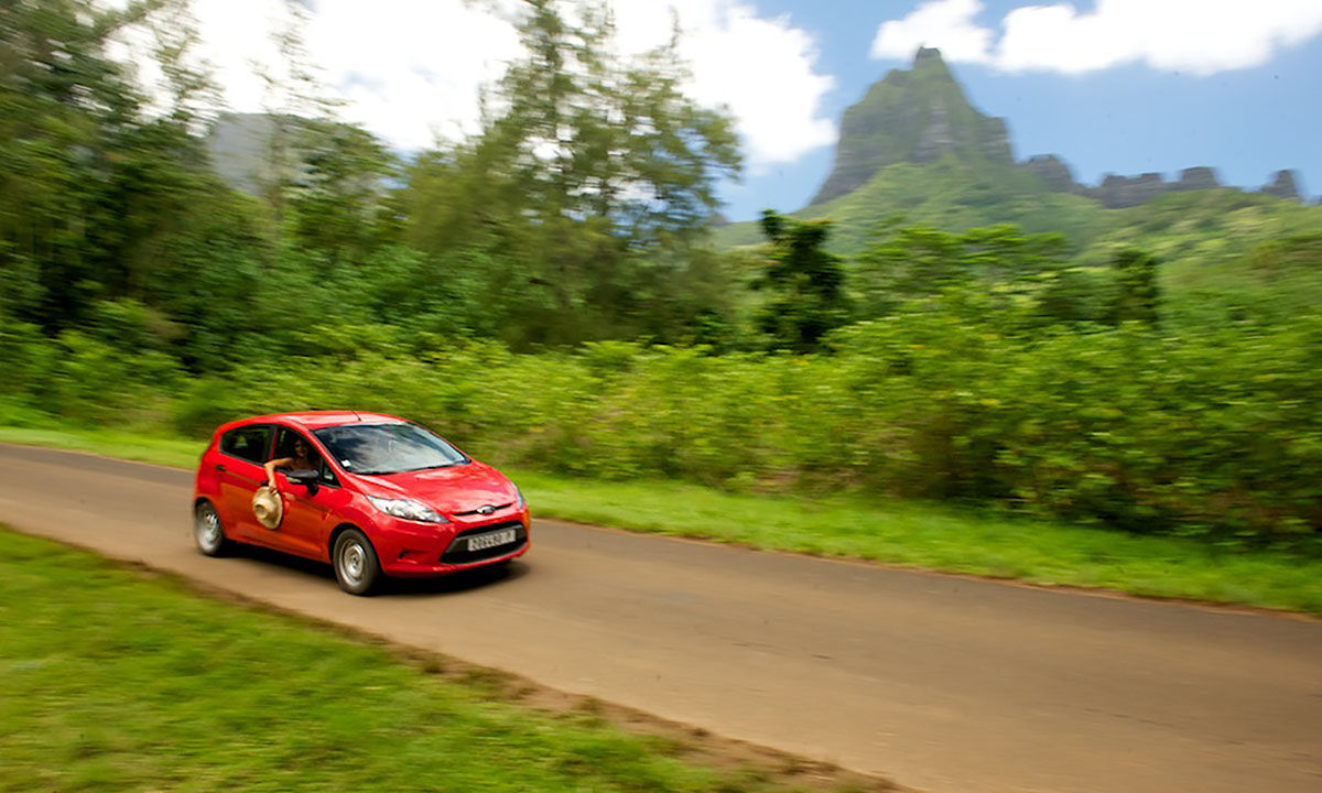 Tahiti Automatic Car Rental with A/C