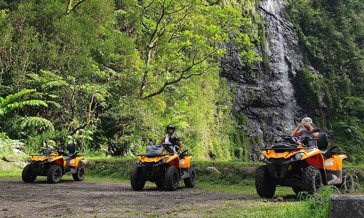 Vaihiria Quad - Tahiti ATV Adventure