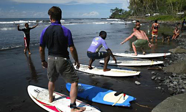Surfing Group Lesson - Tura'i Mataare Surf School