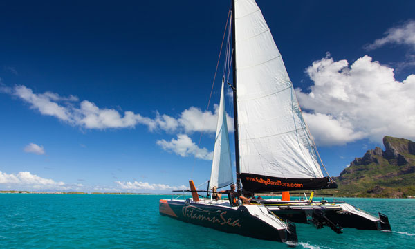Vitamin Sea Catamaran Half-Day Cruise
